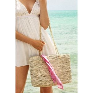 Urban Outfitters Straw Tote Bag